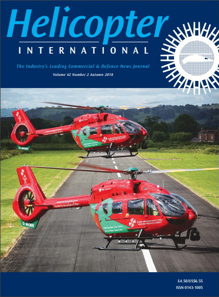 Helicopter International Magazine, cover photo by NorrPress